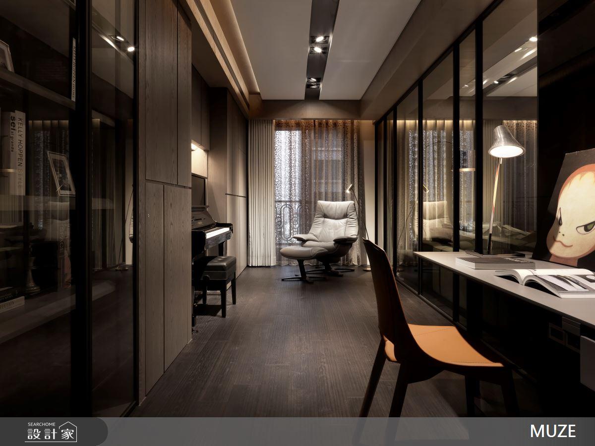 60坪新成屋(5年以下)_奢華風書房案例圖片_慕澤設計室內裝修股份有限公司_慕澤_36之9