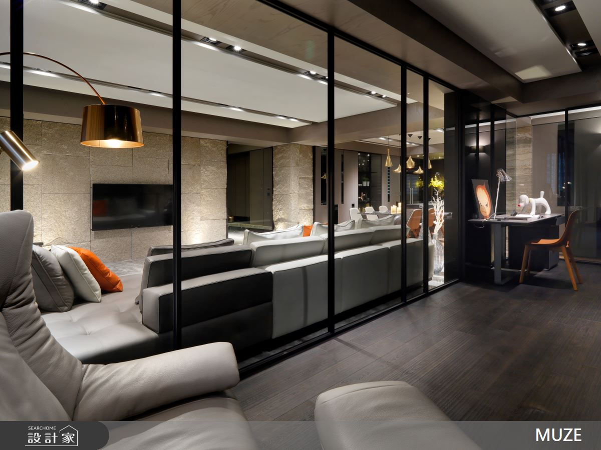 60坪新成屋(5年以下)_奢華風書房案例圖片_慕澤設計室內裝修股份有限公司_慕澤_36之10