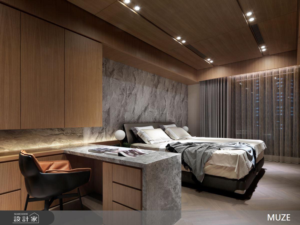 60坪新成屋(5年以下)_奢華風臥室案例圖片_慕澤設計室內裝修股份有限公司_慕澤_36之12