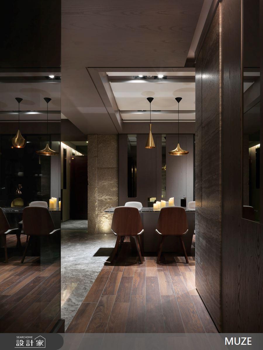 60坪新成屋(5年以下)_奢華風餐廳案例圖片_慕澤設計室內裝修股份有限公司_慕澤_36之11