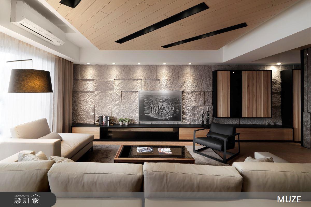 88坪新成屋(5年以下)_現代風客廳案例圖片_慕澤設計室內裝修股份有限公司_慕澤_37之3