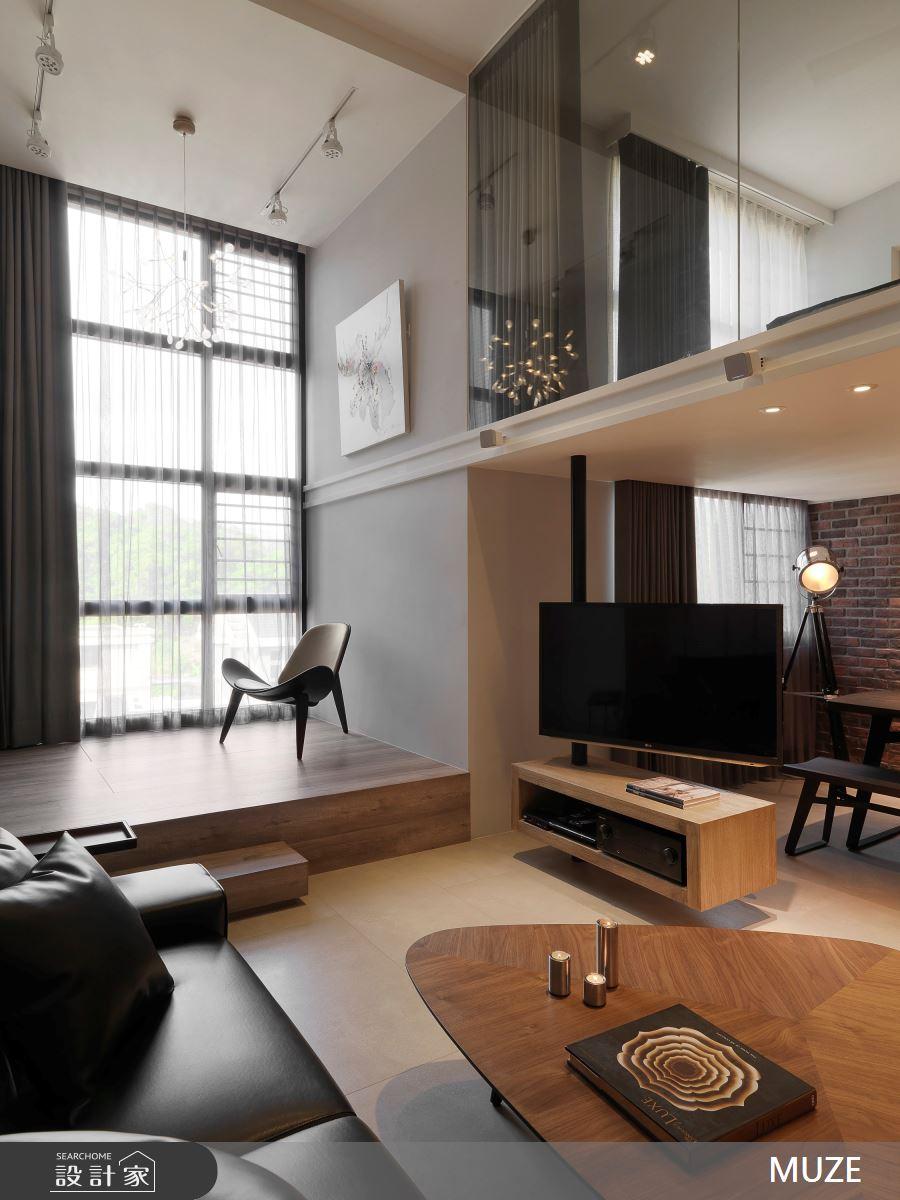 36坪新成屋(5年以下)_現代風客廳和室案例圖片_慕澤設計室內裝修股份有限公司_慕澤_39之3