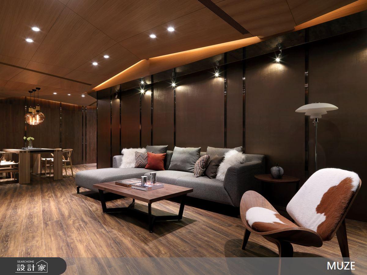 40坪老屋(16~30年)_現代風客廳餐廳案例圖片_慕澤設計室內裝修股份有限公司_慕澤_41之5