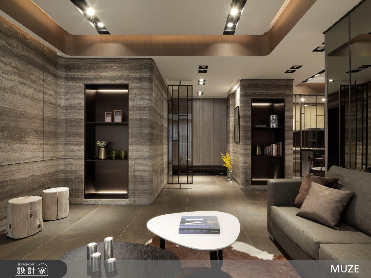 60坪新成屋(5年以下)_現代風客廳案例圖片_慕澤設計室內裝修股份有限公司_慕澤_42之4