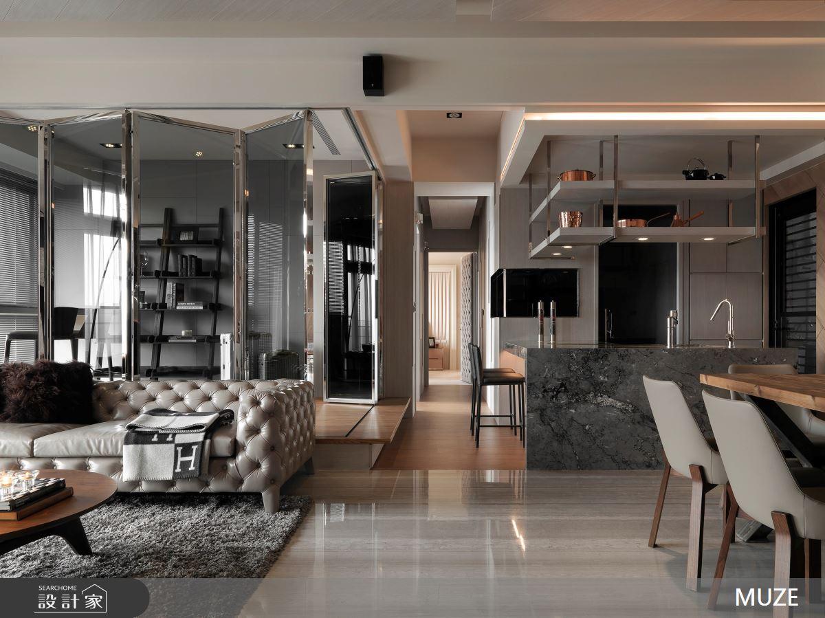 60坪新成屋(5年以下)_現代風客廳餐廳案例圖片_慕澤設計室內裝修股份有限公司_慕澤_46之2