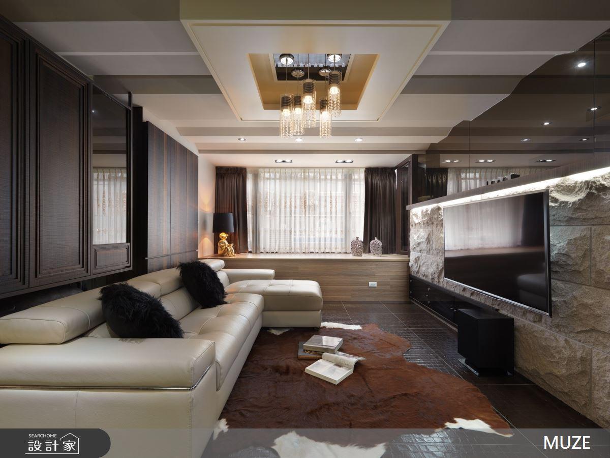 40坪老屋(16~30年)_混搭風客廳案例圖片_慕澤設計室內裝修股份有限公司_慕澤_48之2