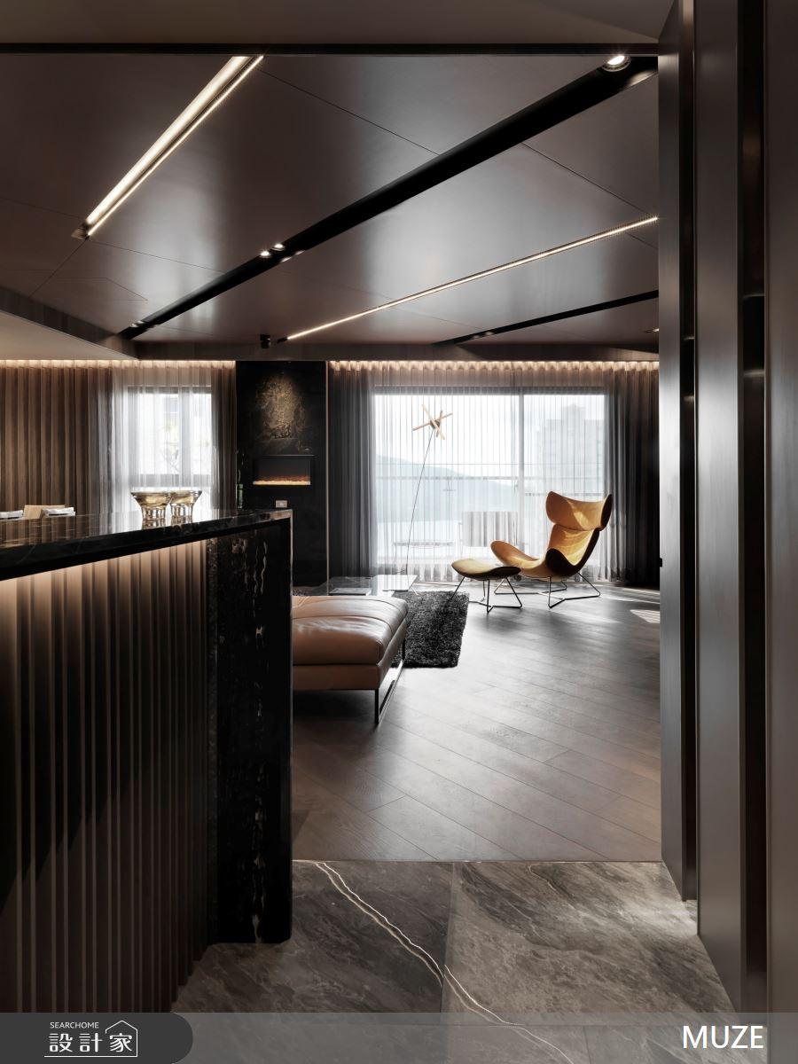 50坪新成屋(5年以下)_現代風客廳案例圖片_慕澤設計室內裝修股份有限公司_慕澤_52之4