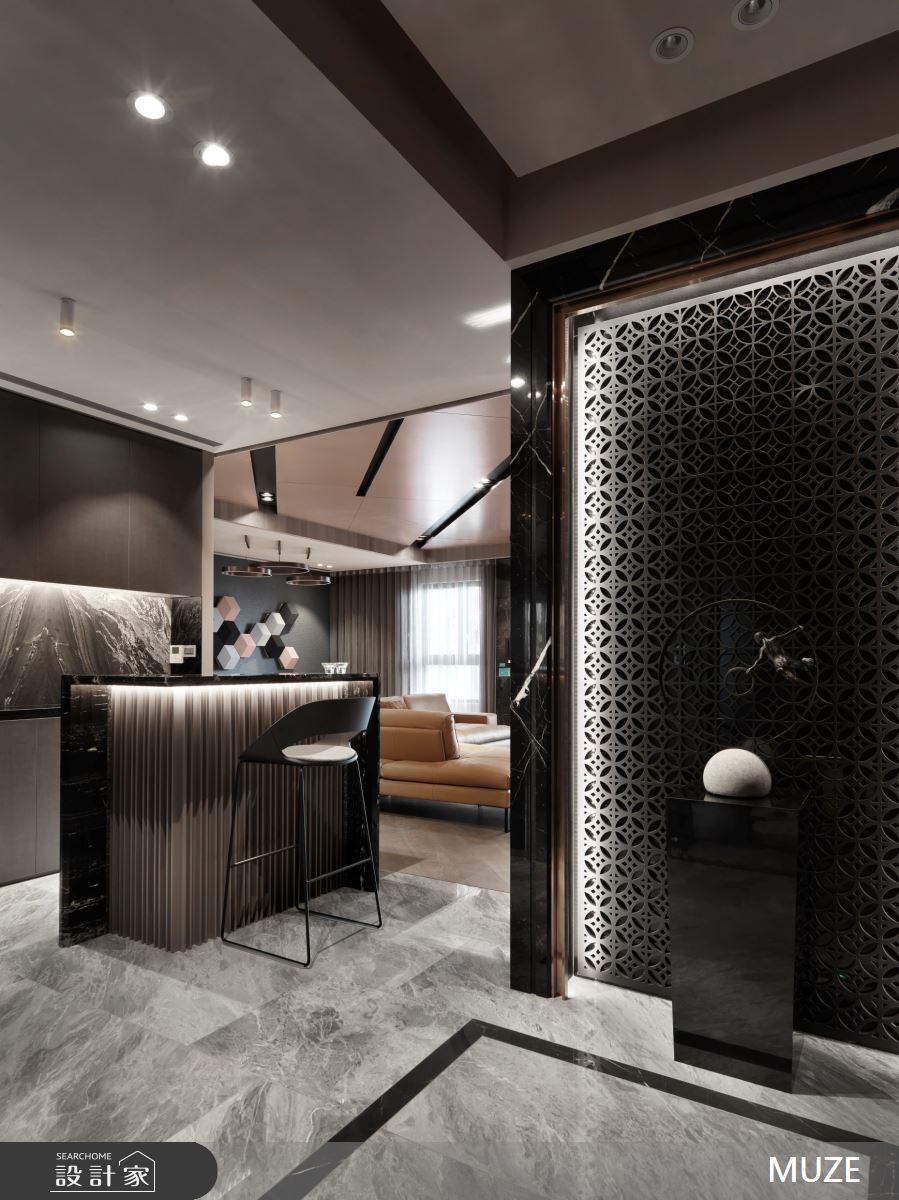 50坪新成屋(5年以下)_現代風吧檯案例圖片_慕澤設計室內裝修股份有限公司_慕澤_52之2