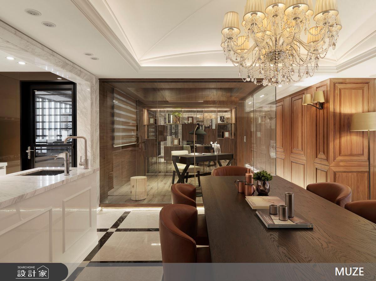 40坪老屋(16~30年)_奢華風餐廳案例圖片_慕澤設計室內裝修股份有限公司_慕澤_54之6
