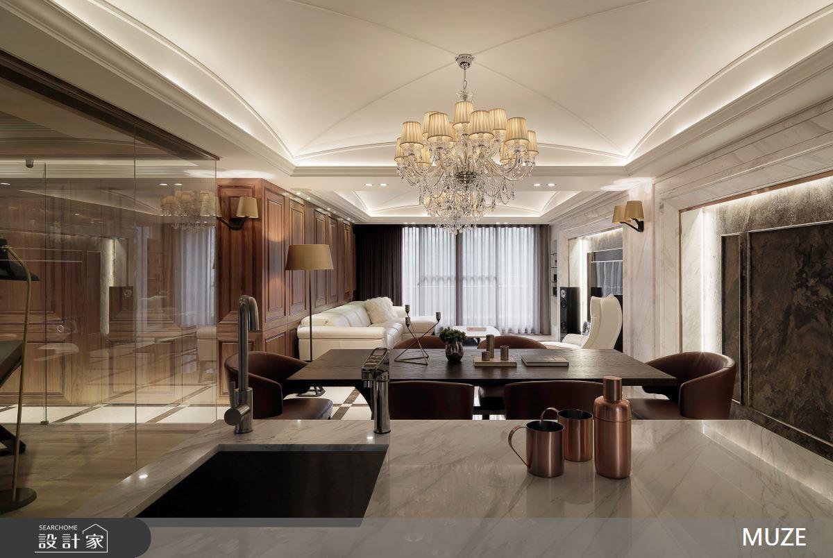 40坪老屋(16~30年)_奢華風餐廳案例圖片_慕澤設計室內裝修股份有限公司_慕澤_54之5