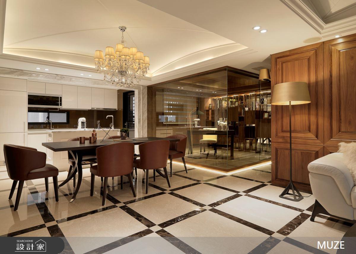 40坪老屋(16~30年)_奢華風餐廳案例圖片_慕澤設計室內裝修股份有限公司_慕澤_54之3