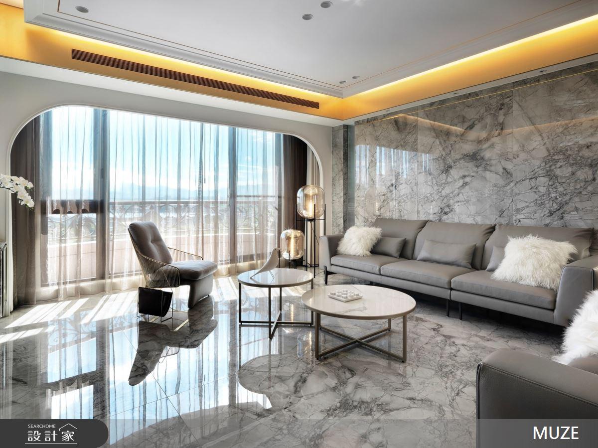 100坪新成屋(5年以下)_奢華風客廳案例圖片_慕澤設計室內裝修股份有限公司_慕澤_56之43