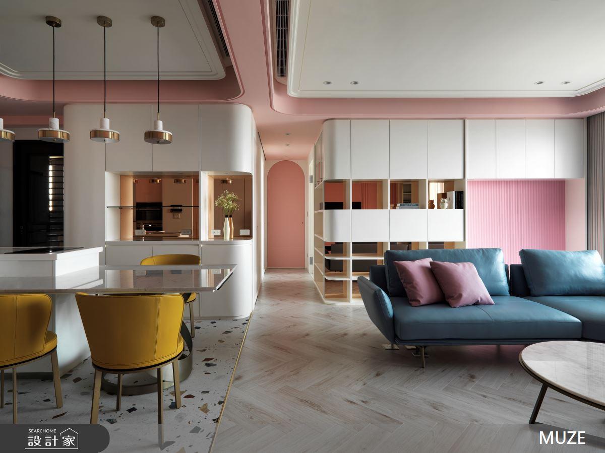 45坪新成屋(5年以下)_北歐風客廳案例圖片_慕澤設計室內裝修股份有限公司_慕澤_57之2