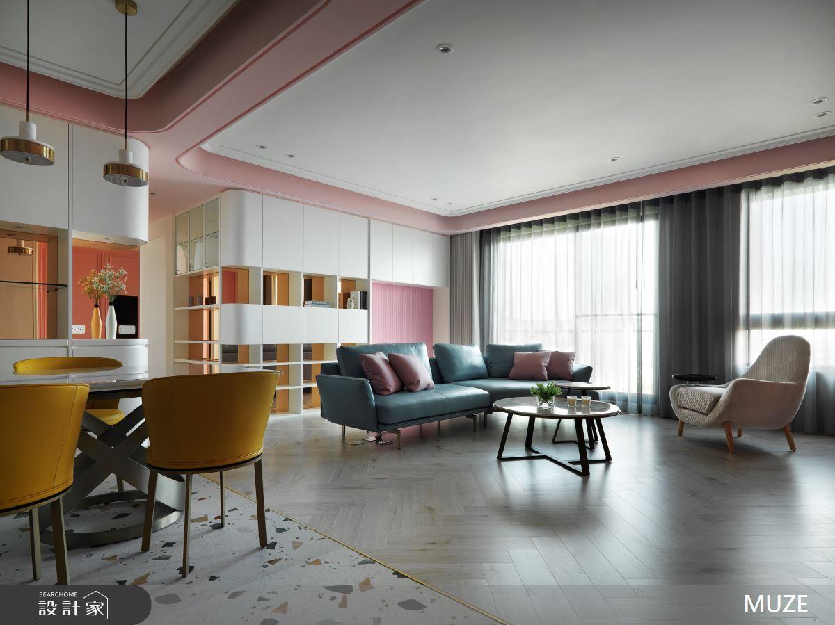 45坪新成屋(5年以下)_北歐風客廳案例圖片_慕澤設計室內裝修股份有限公司_慕澤_57之3