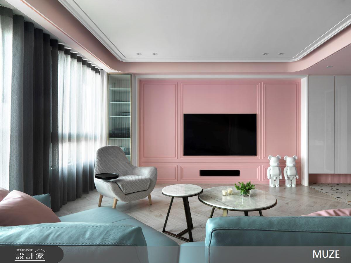 45坪新成屋(5年以下)_北歐風客廳案例圖片_慕澤設計室內裝修股份有限公司_慕澤_57之4