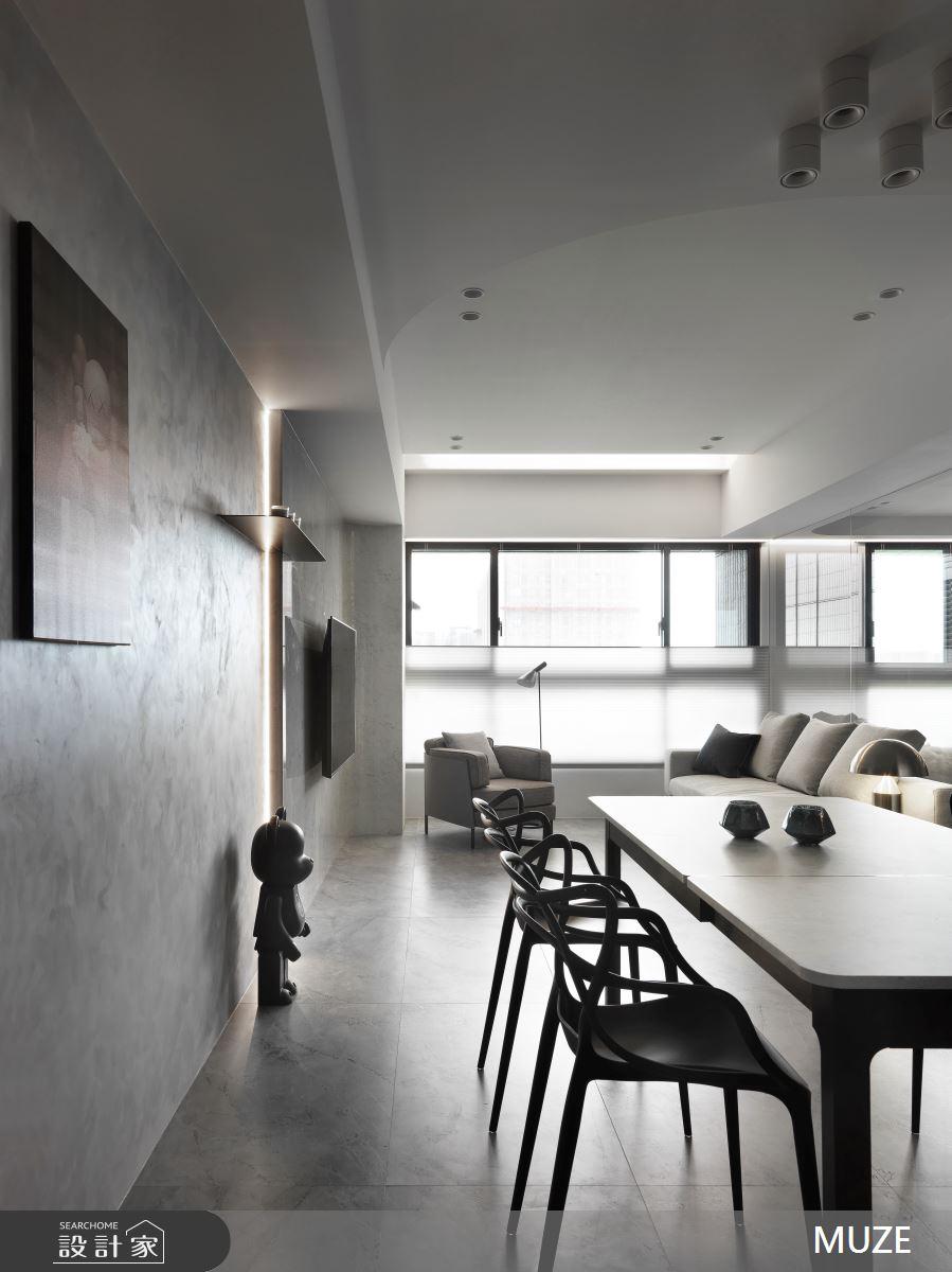 25坪新成屋(5年以下)_現代風案例圖片_慕澤設計室內裝修股份有限公司_慕澤_58之1