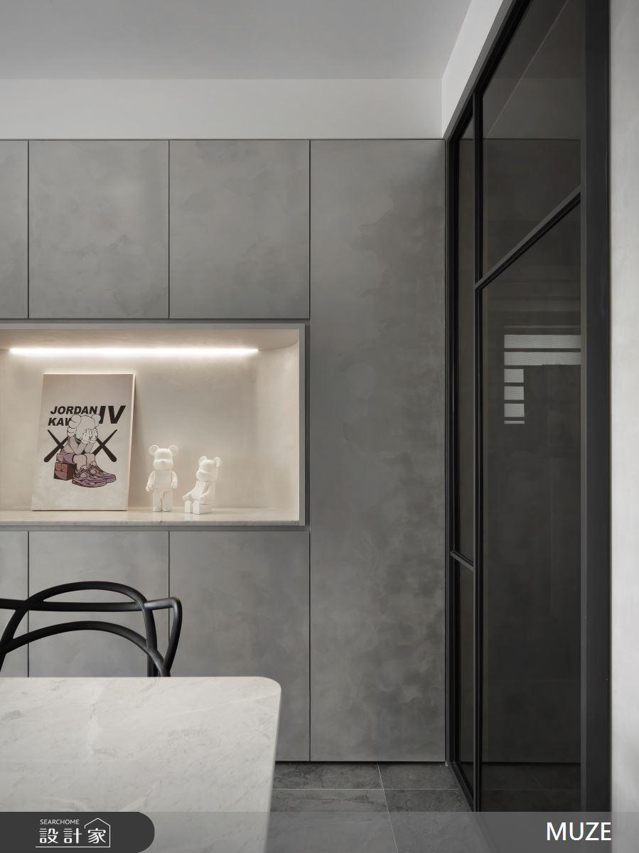 25坪新成屋(5年以下)_現代風案例圖片_慕澤設計室內裝修股份有限公司_慕澤_58之3