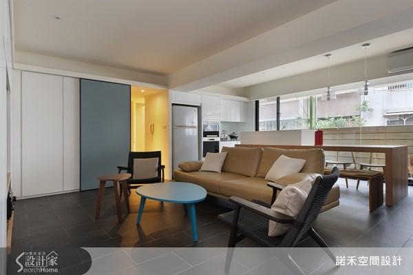 21坪老屋(16~30年)_現代風客廳案例圖片_諾禾空間設計 上碩室內裝修_諾禾_02之1