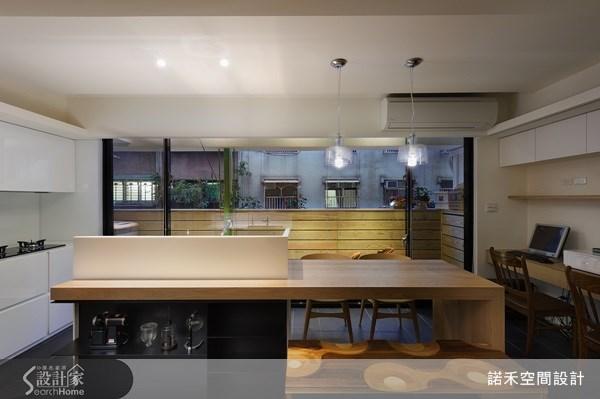 21坪老屋(16~30年)_現代風餐廳廚房案例圖片_諾禾空間設計 上碩室內裝修_諾禾_02之5