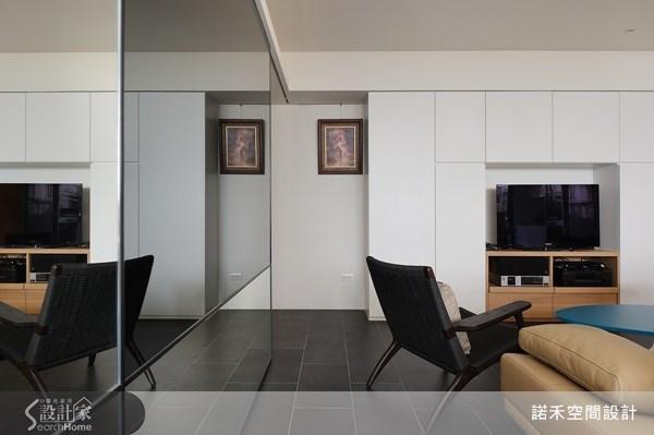 21坪老屋(16~30年)_現代風客廳案例圖片_諾禾空間設計 上碩室內裝修_諾禾_02之3