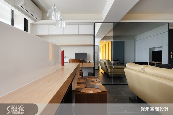 21坪老屋(16~30年)_現代風客廳案例圖片_諾禾空間設計 上碩室內裝修_諾禾_02之4