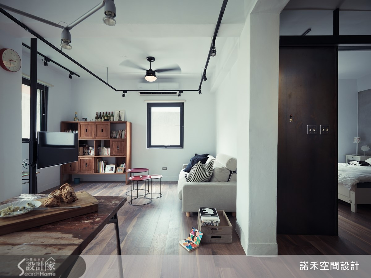19坪老屋(16~30年)_工業風餐廳案例圖片_諾禾空間設計 上碩室內裝修_諾禾_10之1