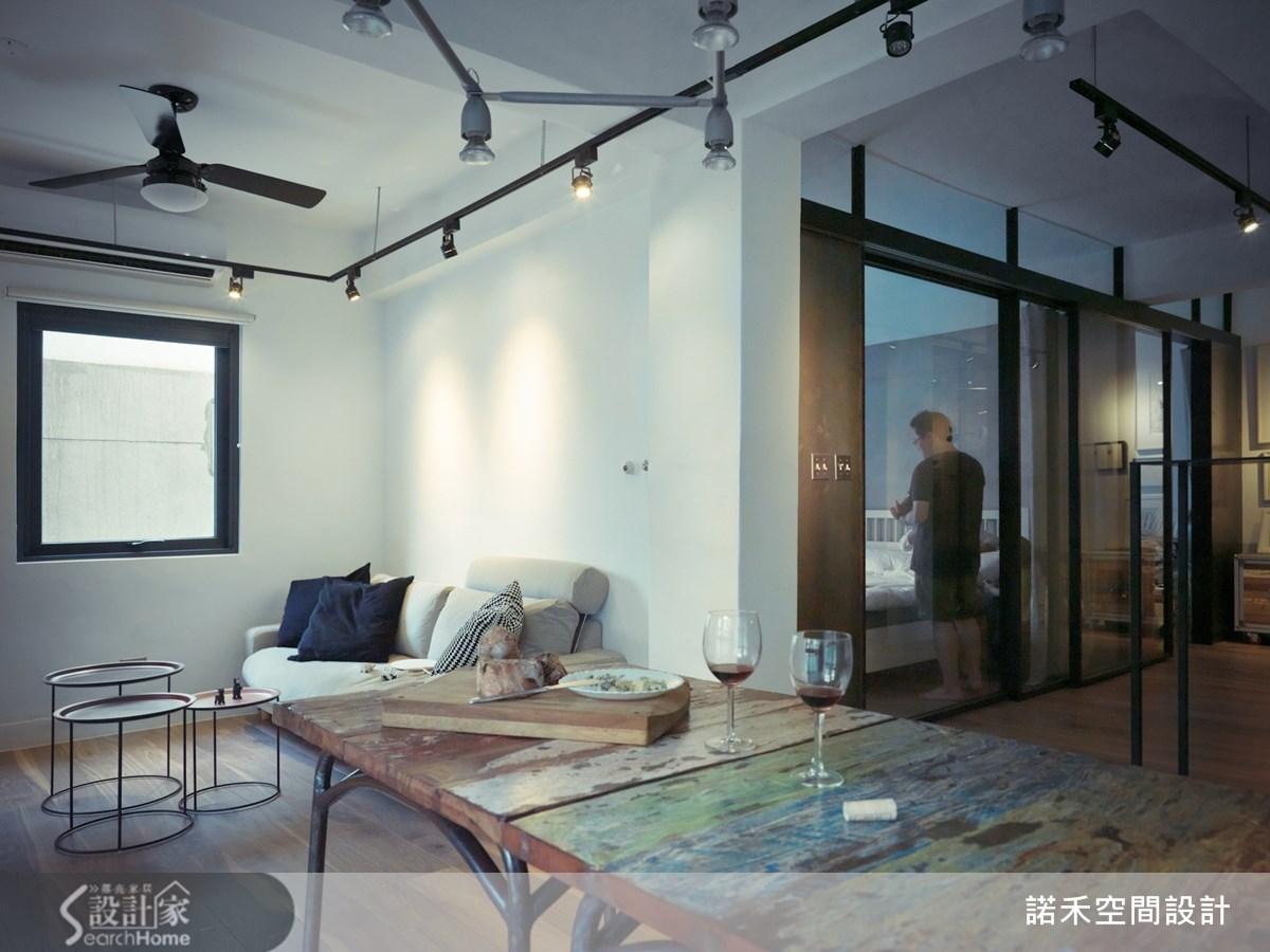 19坪老屋(16~30年)_工業風餐廳案例圖片_諾禾空間設計 上碩室內裝修_諾禾_10之2