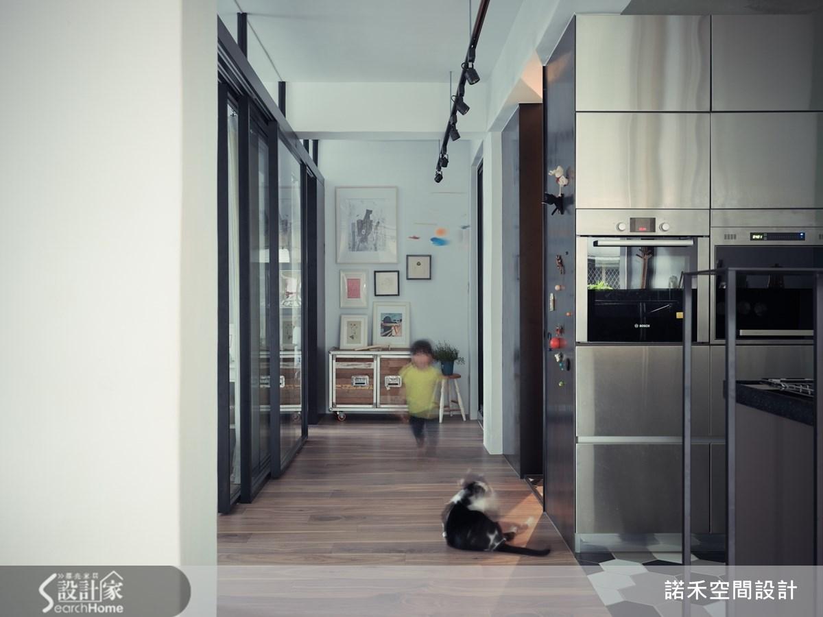 19坪老屋(16~30年)_工業風廚房案例圖片_諾禾空間設計 上碩室內裝修_諾禾_10之3