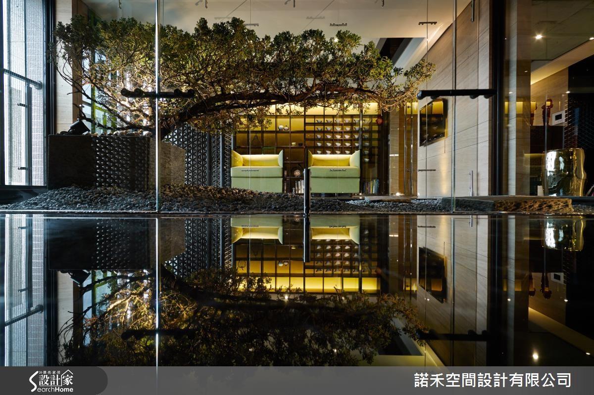 250坪新成屋(5年以下)_新中式風客廳案例圖片_諾禾空間設計 上碩室內裝修_諾禾_11之4