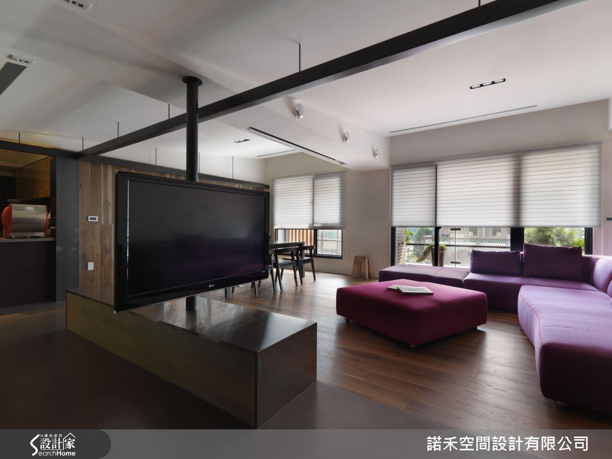 51坪新成屋(5年以下)_現代風客廳案例圖片_諾禾空間設計 上碩室內裝修_諾禾_12之1