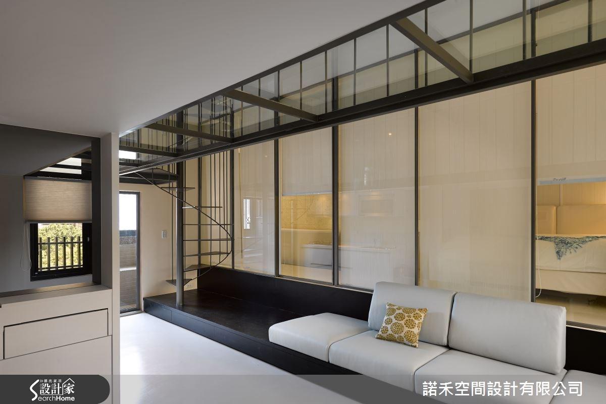 12坪新成屋(5年以下)_現代風客廳案例圖片_諾禾空間設計 上碩室內裝修_諾禾_15之11