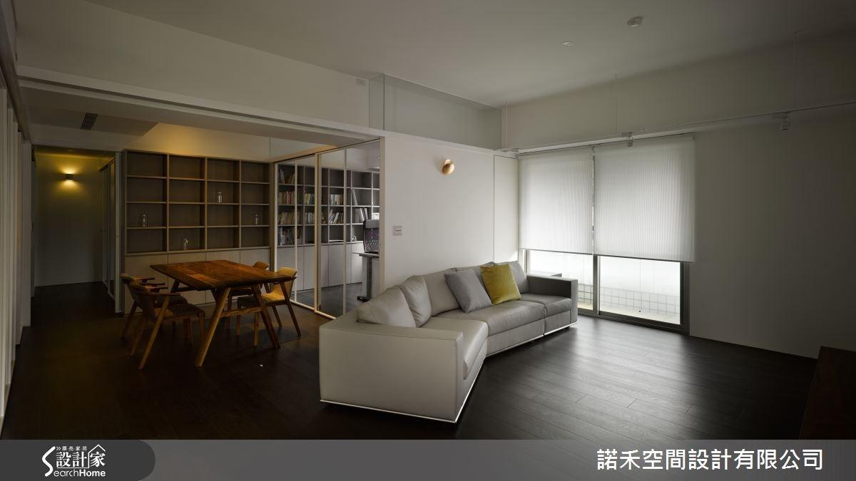 35坪老屋(16~30年)_工業風客廳案例圖片_諾禾空間設計 上碩室內裝修_諾禾_14之2