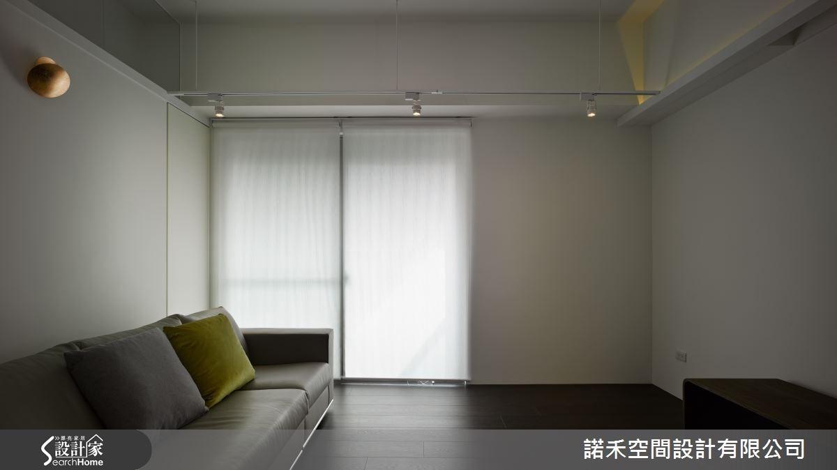 35坪老屋(16~30年)_工業風客廳案例圖片_諾禾空間設計 上碩室內裝修_諾禾_14之3