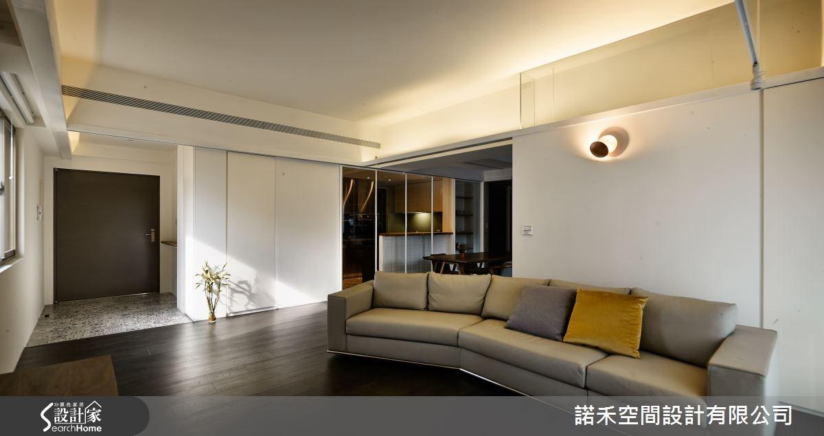 35坪老屋(16~30年)_工業風客廳案例圖片_諾禾空間設計 上碩室內裝修_諾禾_14之5