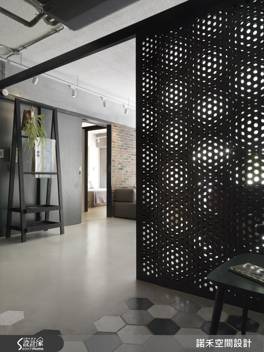 32坪老屋(16~30年)_工業風玄關案例圖片_諾禾空間設計 上碩室內裝修_諾禾_16之2