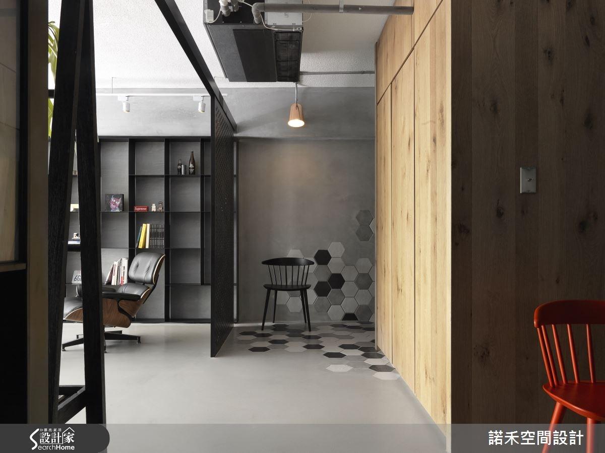 32坪老屋(16~30年)_工業風玄關案例圖片_諾禾空間設計 上碩室內裝修_諾禾_16之3