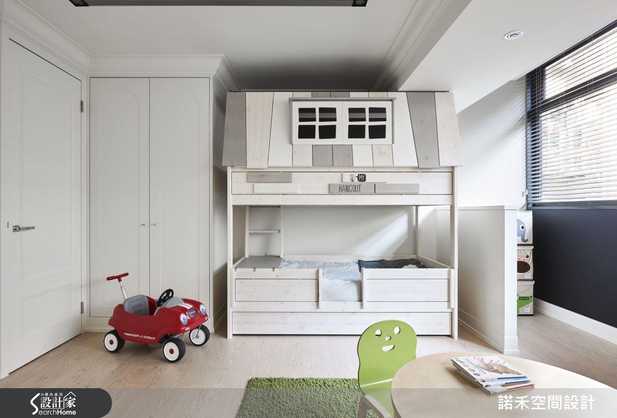 50坪新成屋(5年以下)_美式風兒童房兒童房案例圖片_諾禾空間設計 上碩室內裝修_諾禾_17之24