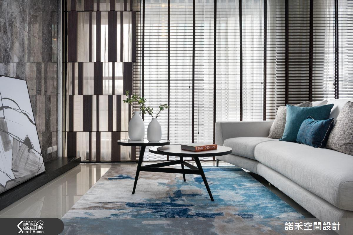45坪新成屋(5年以下)_現代風客廳案例圖片_諾禾空間設計 上碩室內裝修_諾禾_19之2