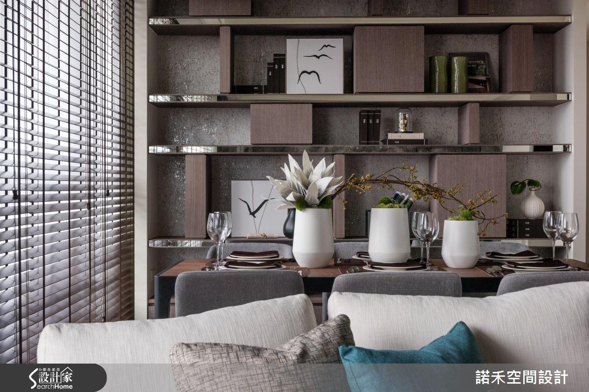 45坪新成屋(5年以下)_現代風客廳餐廳案例圖片_諾禾空間設計 上碩室內裝修_諾禾_19之4