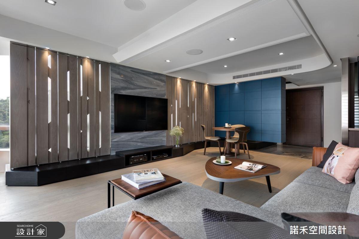 40坪中古屋(5~15年)_簡約風玄關客廳案例圖片_諾禾空間設計 上碩室內裝修_諾禾_21之3