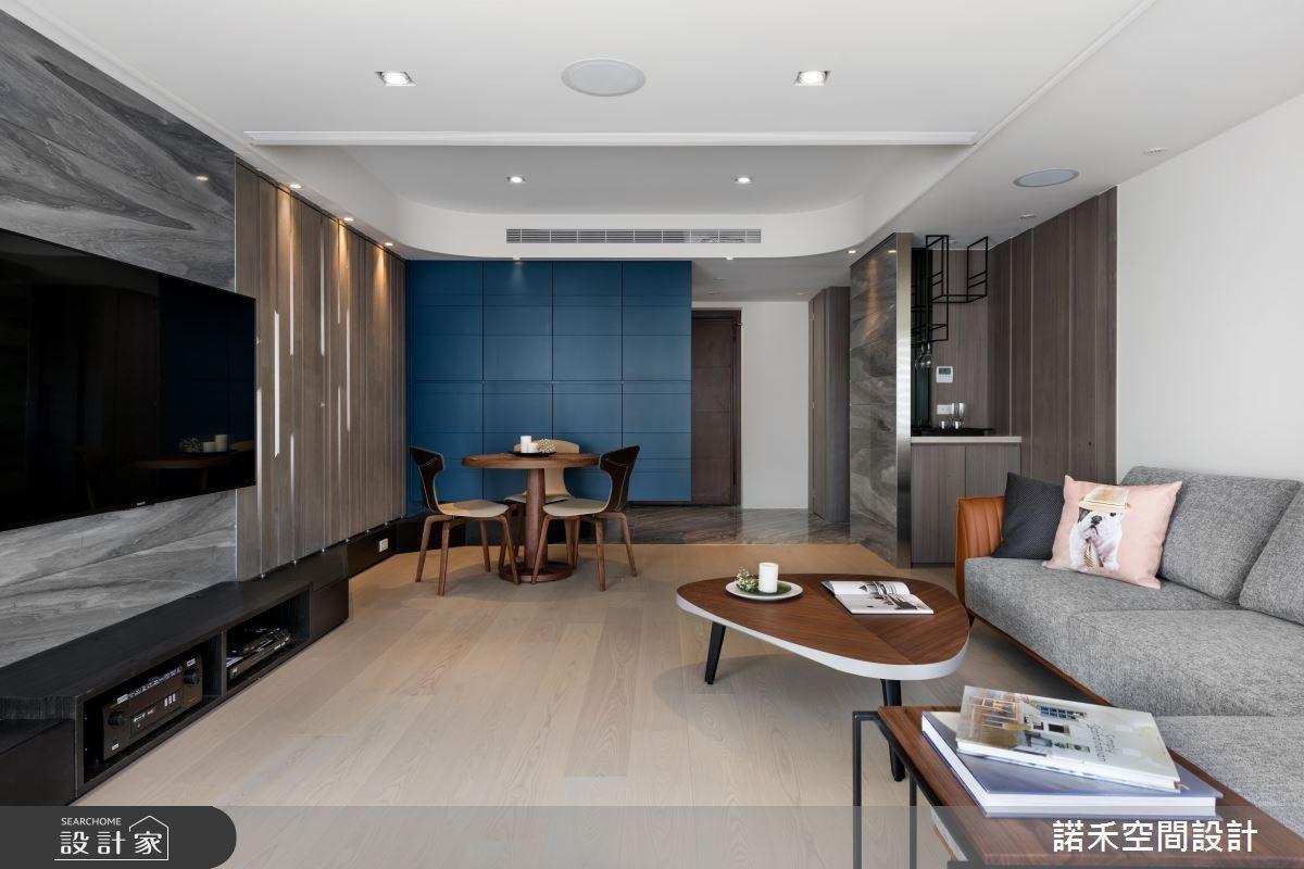 40坪中古屋(5~15年)_簡約風玄關客廳案例圖片_諾禾空間設計 上碩室內裝修_諾禾_21之4