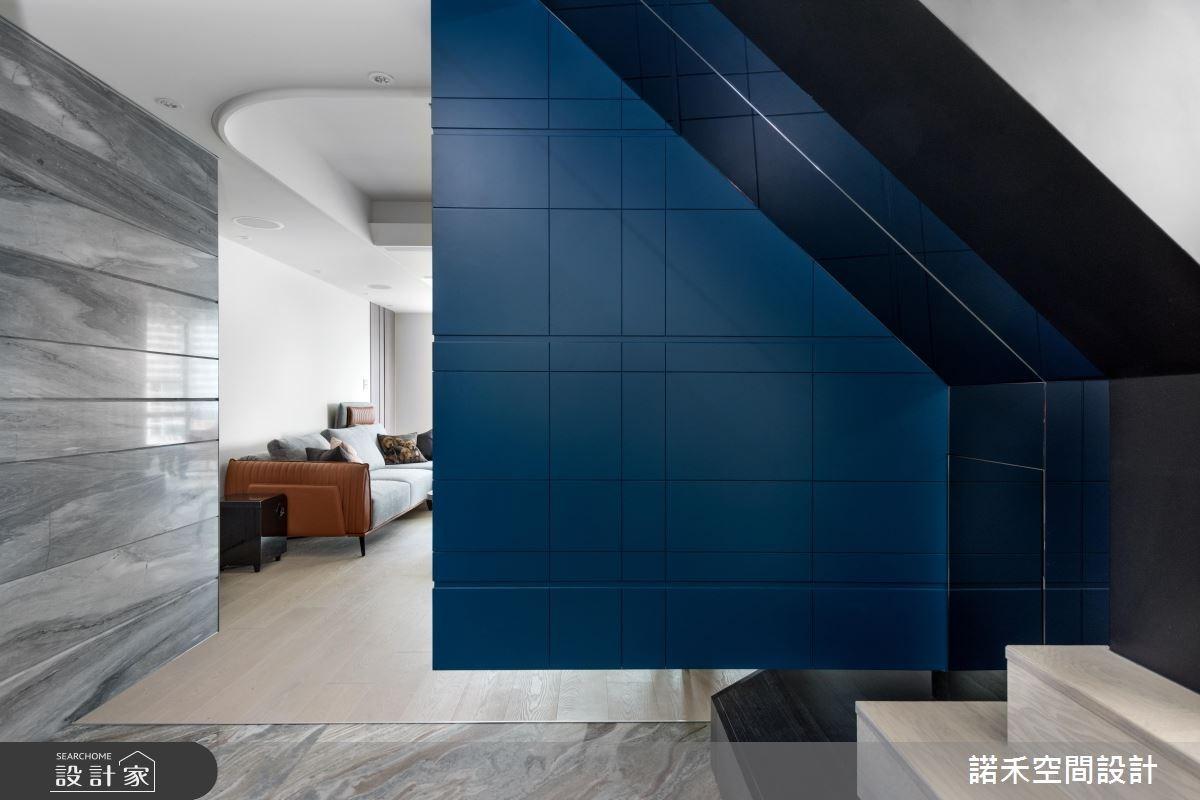 40坪中古屋(5~15年)_簡約風玄關客廳案例圖片_諾禾空間設計 上碩室內裝修_諾禾_21之5