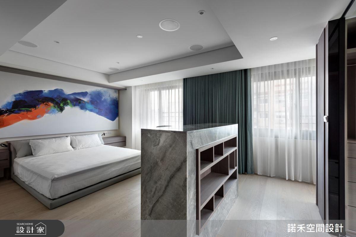 40坪中古屋(5~15年)_簡約風臥室案例圖片_諾禾空間設計 上碩室內裝修_諾禾_21之7