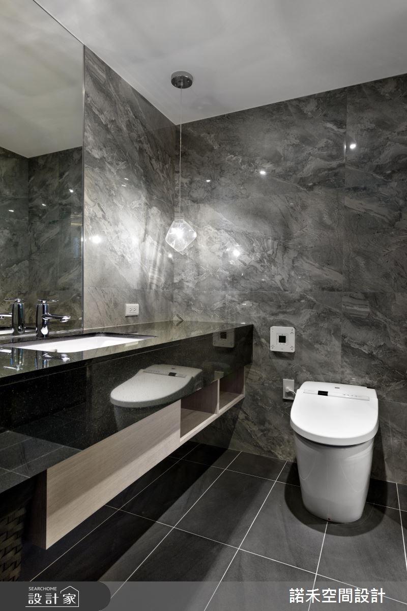 40坪中古屋(5~15年)_簡約風浴室案例圖片_諾禾空間設計 上碩室內裝修_諾禾_21之10
