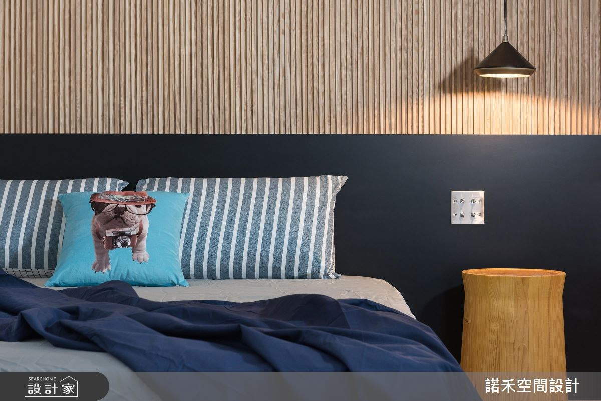 8坪新成屋(5年以下)_現代風臥室案例圖片_諾禾空間設計 上碩室內裝修_諾禾_23之10