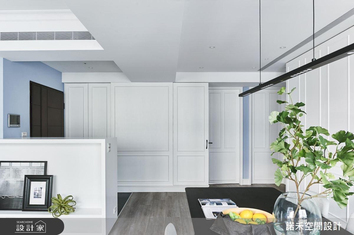 35坪中古屋(5~15年)_美式風餐廳案例圖片_諾禾空間設計 上碩室內裝修_諾禾_26之4