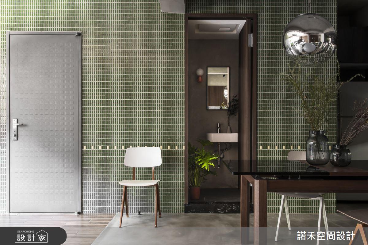 初秋好感一抹綠!用磚牆、日光與植栽改造老屋