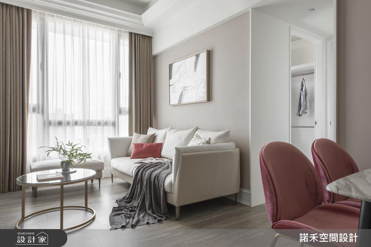 12坪中古屋(5~15年)_美式風客廳案例圖片_諾禾空間設計 上碩室內裝修_諾禾_29之2