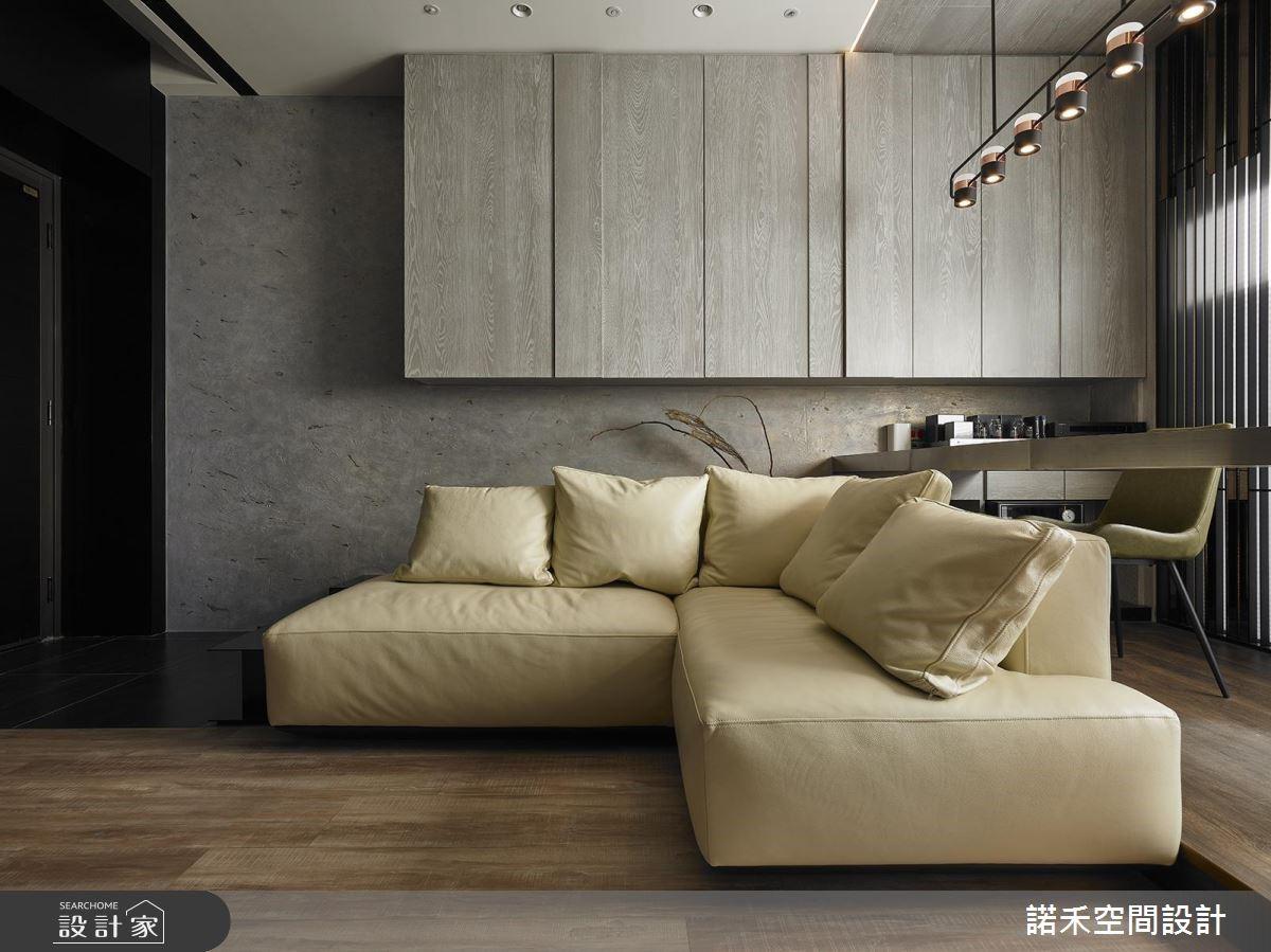 25坪新成屋(5年以下)_現代風客廳案例圖片_諾禾空間設計 上碩室內裝修_諾禾_31之4
