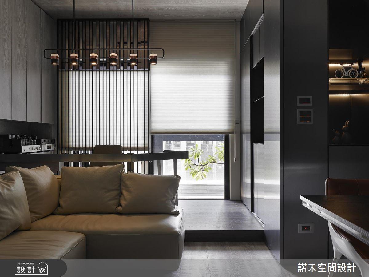 25坪新成屋(5年以下)_現代風客廳案例圖片_諾禾空間設計 上碩室內裝修_諾禾_31之3